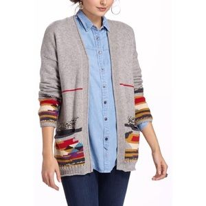 Anthropologie Sparrow Capitana Cardigan Small